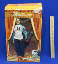 "Nsync Justin Timberlake Marionette Doll Puppet 10"" Original Box w/ Display Stand"