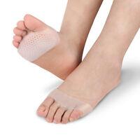 Pads Toe Gel de Silicone Talon Haut Semelle Avant-pied Douleur Soins de Santé
