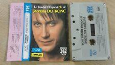 Cassette - K7 - Tape 747 : Le double disque d'or de JACQUES DUTRONC  C-60 3426