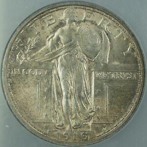 1916 Standing Liberty Silver Quarter 25c NCS UNC Details *Choice BU UNC*