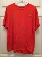 University of Virginia UVA Cavaliers Basketball Team Issued Orange T-Shirt 2XL