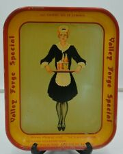Vintage Valley Forge Special Adam Scheidt Brewing Co. Metal Serving Tray Beer