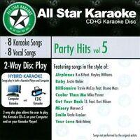 Karaoke: Party Hits, Vol. 5 by Karaoke (CD, All Star Karaoke)
