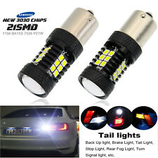 P21W 1156 7506 S25 LED Backup Lights Replacement 6000K Cool White Reverse Bulbs