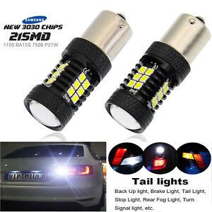 LED Backup Light White Tail Reverse Lights 1156 P21W BMW 3 Series E30 E36 E46