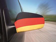 NEU  2x Spiegelbezüge Deutschland WM Fanartikel Fußball EM Auto Flagge Fahne