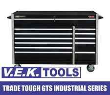 "JIMY TOOLS H/DUTY 52"" 12DRAW B/BEARING GTS ROLLER CABINET TOOL BOX CHEST KIT-SP"