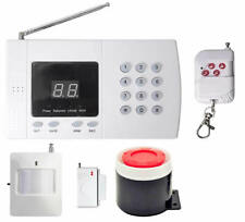 Wireless Home Security Alarm GSM Burglar System Office Autodial SMS Intruder Kit