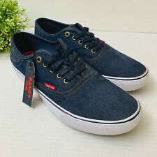 Levi's Men's Monterey Denim Sneakers 10.5M Navy (517519-09U) $50