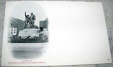 Vintage Chamonix, French Alps Black & White Postcard - UDB Undivided Back
