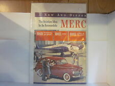 1941 Mercury 8 Automobile 2 Page Advertising -plastic sealed-excellent condition