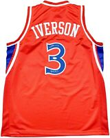 Allen Iverson autographed signed inscribed jersey NBA Philadelphia 76ers PSA COA