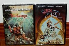 TRAS EL CORAZON VERDE+LA JOYA DEL NILO NUEVO PRECINTADO 2 DVD ACCION(SIN ABRIR)
