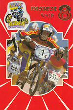Vintage 1980's Raleigh Burner BMX Happy 8th Birthday Greeting Card ~ 8 Years Old