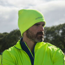 Higher state temps froid homme jaune hiver chaud running sports beanie