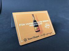 Veuve Clicquot champán reservado escudo publicitarias decorativas de metal dibond nuevo embalaje original