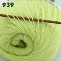 Sale 1 Skein x50gr LACE Soft Crochet Acrylic Wool Cashmere hand knitting Yarn 39