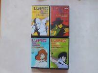 Lupin the Third movie VHS set  japan japanese