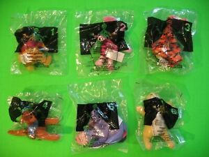 2002 McDonalds - Winnie the Pooh - set of 6 *MIP*