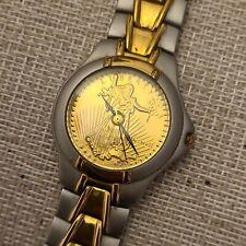 Vintage MEN'S Timepieces Liberty 24k Replica Coin