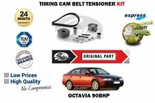 Skoda Octavia 2003-2004 1.9 TDi 8V New GATES Timing Belt Kit 90BHP ALH ENGINE