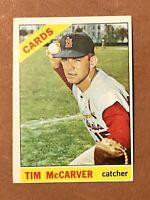 1966 Topps Tim McCarver Card #275 EX St. Louis Cardinals