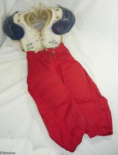 Rawlings Harlon Hill Armor Lite Shoulder Pads Pants Vintage Youth Set