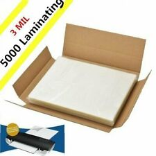 5000 Pack Letter Size Laminator 3 Mil Hot Laminating Pouches 9 X 115 Sheets