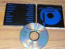 PHONOGRAM NEWS  3/91 - V.A. / ALBUM-CD 1991 MINT- SCORPIONS, DAVID HALLYDAY