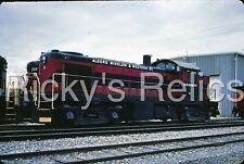 Original Slide AW&W 4 Alco RS1 Algers Winslow Western 1982 Loco Shed Coe IN