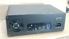 GLYPH STUDIO 4TB EXTERNAL BACKUP STORAGE HARD DRIVE FW800 USB 3.0 eSATA RAID0/1