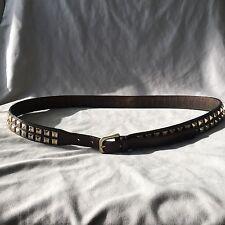 Very Cool Burberry Gold stubs belt