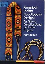 PATTERNS! American Indian Needlepoint for PILLOWS Belts HANDBAGS PROJECTS more!