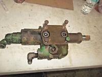 john deere model 40 loader hydraulic valve part JD MT tractor loader valve bank