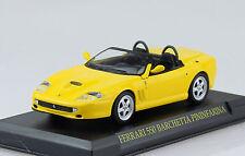 Ferrari 550 Barchetta gelb 1:43 IXO/Altaya Modellauto