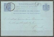 Briefkaart  3 stuks met stempel Harderwijk