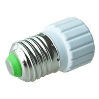 E27 auf GU10 verlaengern Base LED CFL Gluehlampe-Lampen-Adapter-Konverter-Schrau