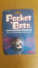 VINTAGE 1984 TOMY No. 2584 POCKET 'BOTS MOTORIZED ROBOT (WIND-UP, WALKING) MOC