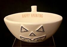 New listing Mudpie Jack O'Lantern Happy Haunting Halloween Bowl