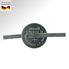 Knopfzelle CR2032 mit Lötfahne in Z-Form Knopf Batterie Lithium 3V Button Cell
