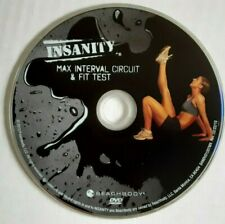 Beachbody Insanity Dvd: Max Interval Circuit & Fit Test - genuine replacement