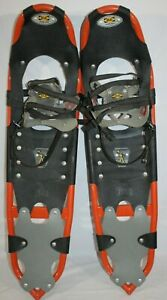 "ATLAS 1044 Snowshoes 9.5"" X 34"" w/ Ice Cleats"
