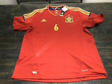 ADIDAS SPAIN EURO 2012 WINNER XXL ANDRES INIESTA ORIGINAL SOCCER JERSEY SHIRT