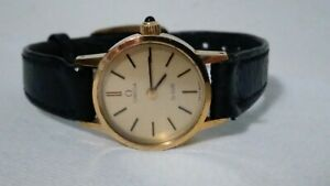 Ladies vintage Omega swiss mechanical wind Gold plated watch.