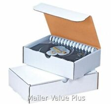 50 - 11 1/8 x 8 3/4 x 2 White Shipping Mailer Literature Box Packing boxes