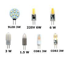 G4 LED AC/DC 12V 220V AC Light Bulb Lamp Car Boat Caravan Direct Halogen Replace