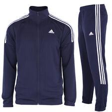 adidas Herren Trainingsanzug Jogginganzug Sportanzug Fußball Fitness dunkelblau