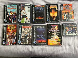 Vintage Sega Saturn Video Games Bundle...
