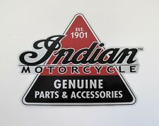 "INDIAN MOTORCYCLE GENUINE PART & ACCESSORIES 1901 STICKER DECAL 12"" x 9"""