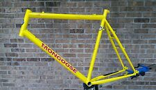 "Nos Mongoose Switchback 22"" Retro 90's Mountain Frame Cr-Mo Main Yellow 5a"